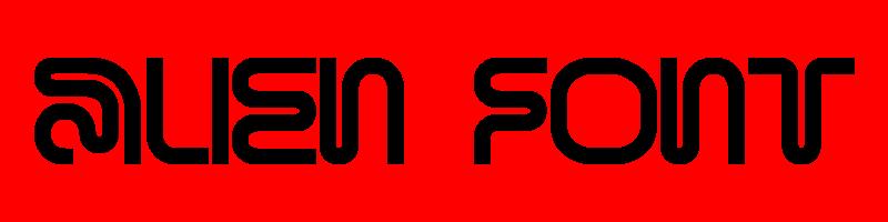 線上英文外星人字型下載,快速將英文字轉換成英文外星人字型 ,系統支援WIN+MAC蘋果系統