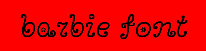 線上英文芭比娃娃字型下載,快速將英文字轉換成英文芭比娃娃字型 ,系統支援WIN+MAC蘋果系統