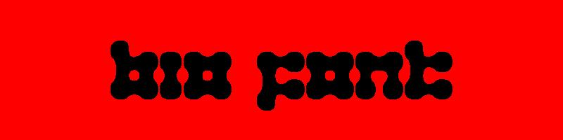 線上英文生物字型下載,快速將英文字轉換成英文生物字型 ,系統支援WIN+MAC蘋果系統