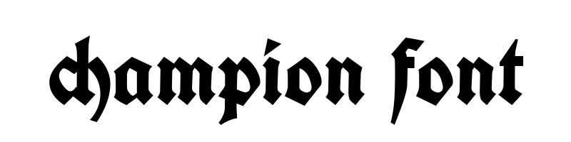 線上英文冠軍字型下載,快速將英文字轉換成英文冠軍字型 ,系統支援WIN+MAC蘋果系統