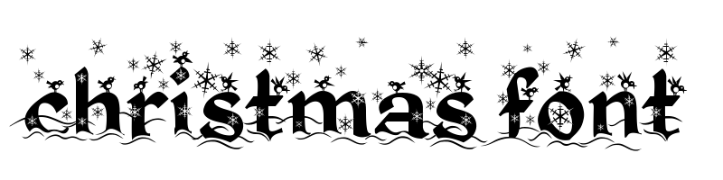 線上英文聖誕節字型下載,快速將英文字轉換成英文聖誕節字型 ,系統支援WIN+MAC蘋果系統