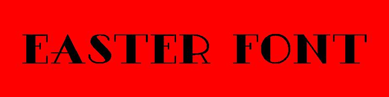 線上英文復活節字型下載,快速將英文字轉換成英文復活節字型 ,系統支援WIN+MAC蘋果系統