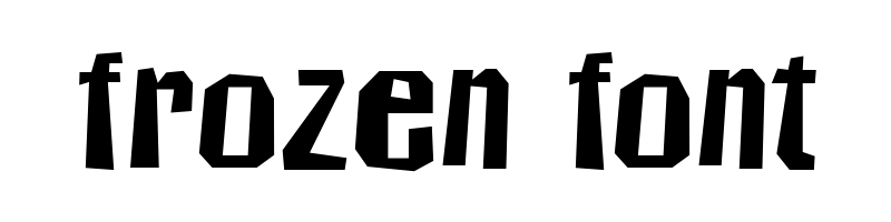 線上英文冰凍字型下載,快速將英文字轉換成英文冰凍字型 ,系統支援WIN+MAC蘋果系統