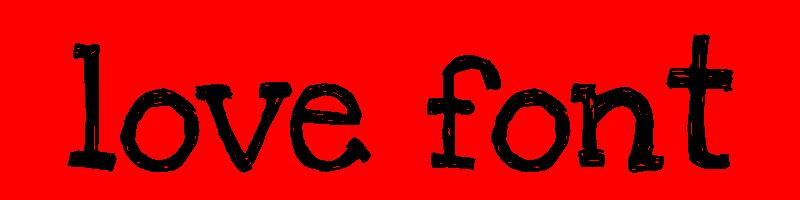 線上英文愛情字型下載,快速將英文字轉換成英文愛情字型 ,系統支援WIN+MAC蘋果系統