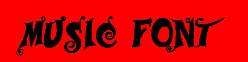 線上英文音樂字型下載,快速將英文字轉換成英文音樂字型 ,系統支援WIN+MAC蘋果系統
