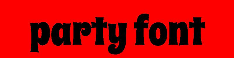 線上英文派對字型下載,快速將英文字轉換成英文派對字型 ,系統支援WIN+MAC蘋果系統