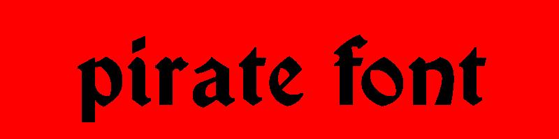 線上英文海盜字型下載,快速將英文字轉換成英文海盜字型 ,系統支援WIN+MAC蘋果系統
