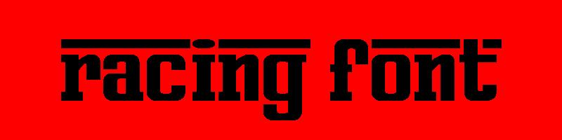 線上英文賽車字型下載,快速將英文字轉換成英文賽車字型 ,系統支援WIN+MAC蘋果系統