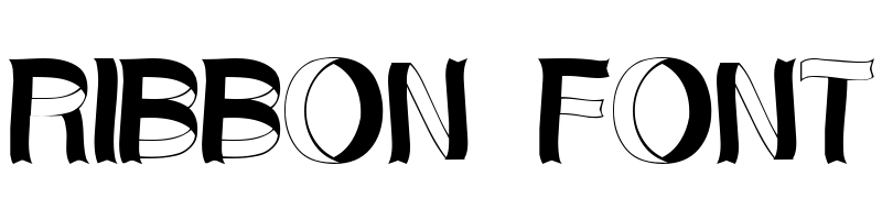 線上英文絲帶字型下載,快速將英文字轉換成英文絲帶字型 ,系統支援WIN+MAC蘋果系統
