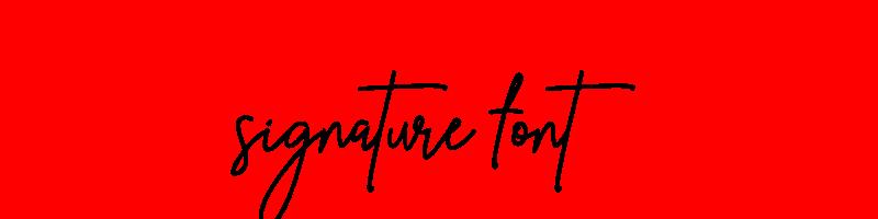 線上英文簽名字型下載,快速將英文字轉換成英文簽名字型 ,系統支援WIN+MAC蘋果系統