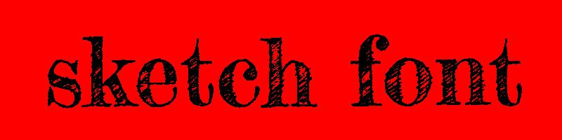 線上英文素描字型下載,快速將英文字轉換成英文素描字型 ,系統支援WIN+MAC蘋果系統