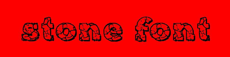 線上英文石頭字型下載,快速將英文字轉換成英文石頭字型 ,系統支援WIN+MAC蘋果系統