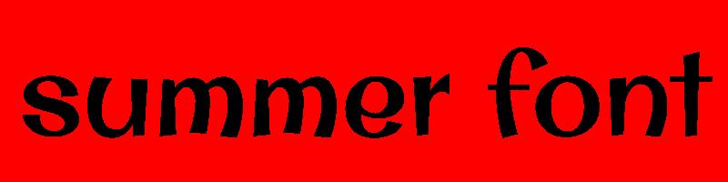 線上英文夏天字型下載,快速將英文字轉換成英文夏天字型 ,系統支援WIN+MAC蘋果系統